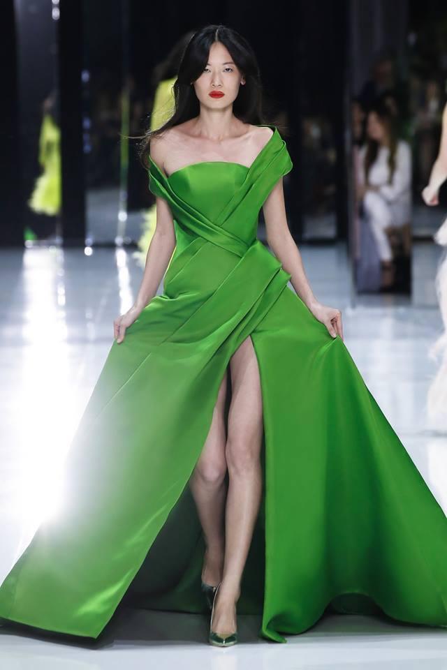 rochie de seara asimetrica