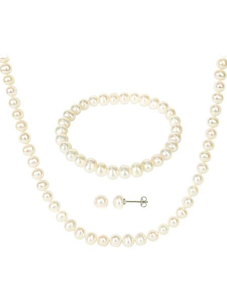 Set Michiko Pearls
