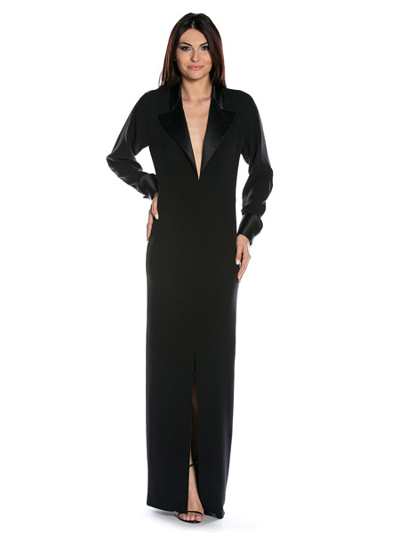 Rochie De Seara Yves Saint Laurent Tip Tuxedo Dressbox